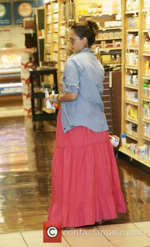 Jessica Alba  takes their daughter Honor Marie...