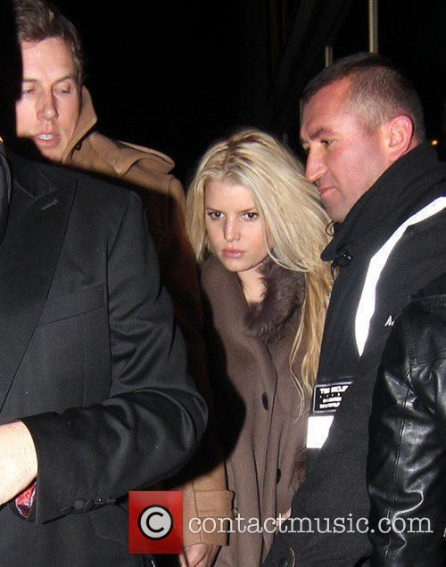 Jessica Simpson and Eric Johnson 2