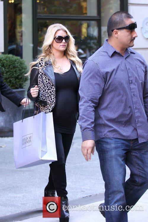 Jessica Simpson and Manhattan Hotel 10