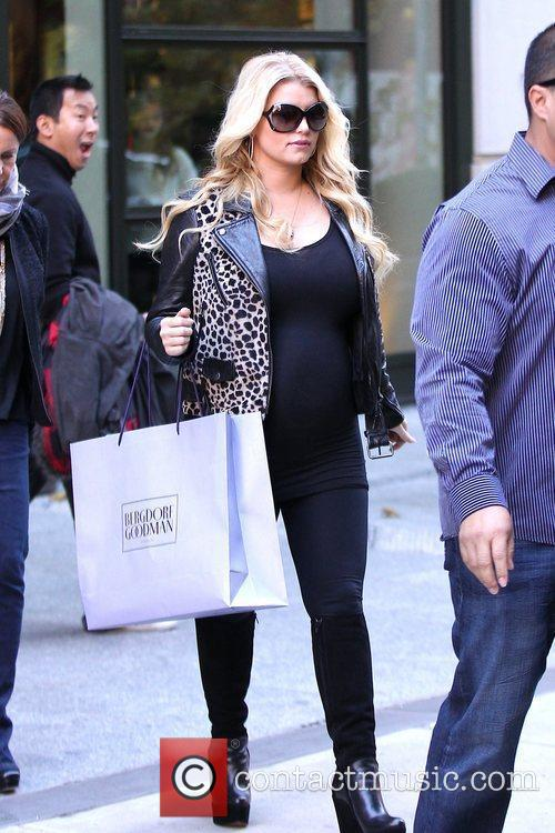 Jessica Simpson and Manhattan Hotel 8