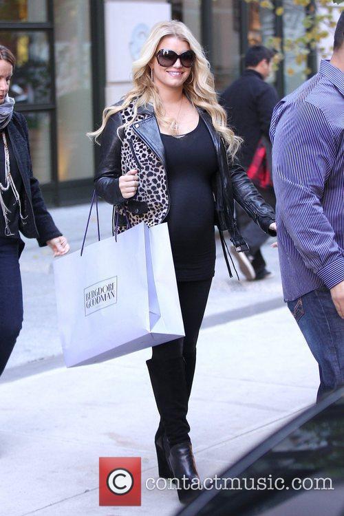 Jessica Simpson and Manhattan Hotel 25