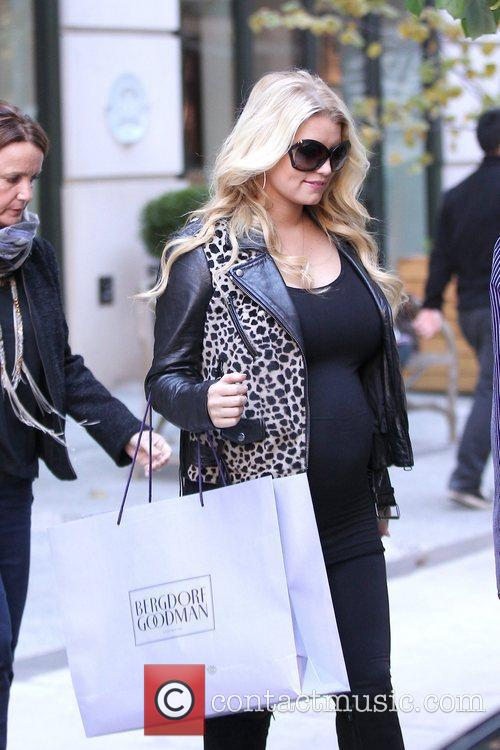 Jessica Simpson and Manhattan Hotel 2