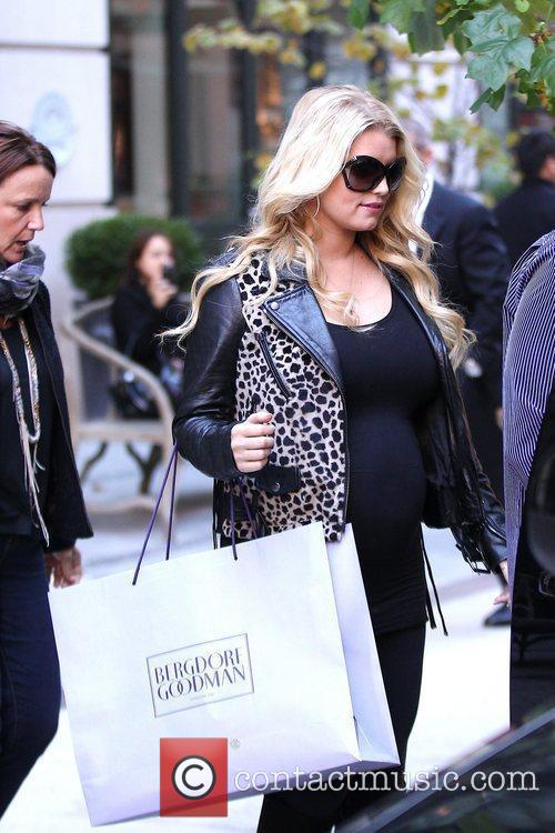 Jessica Simpson and Manhattan Hotel 5