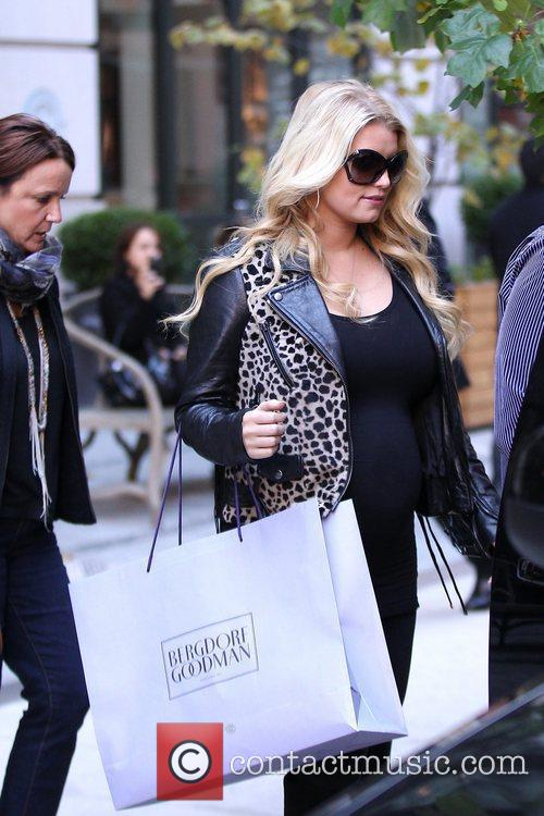 Jessica Simpson and Manhattan Hotel 9
