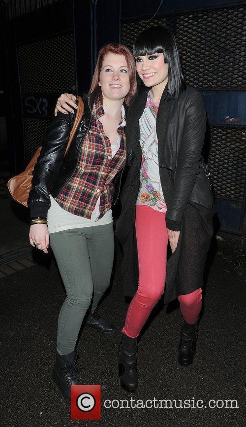 Jessica Cornish aka Jessie J arriving at a...