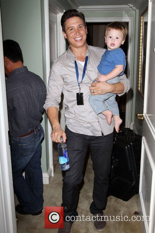 Erik Palladino and his son JetBlue and Nubar...