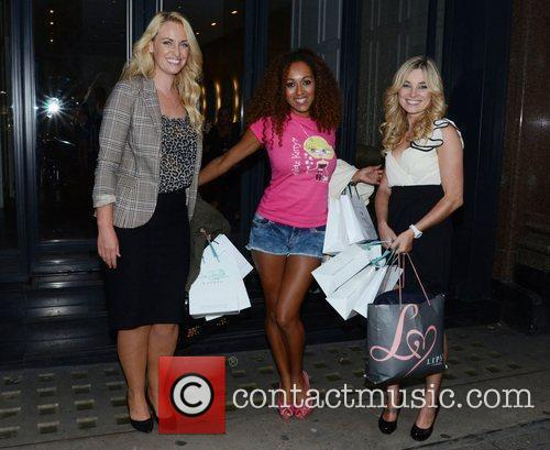 Josie Gibson, Danielle Brown and Sian Welby...