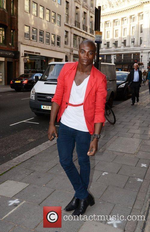 Celebrities attending 'JIAN' London's new Stardust collection held...