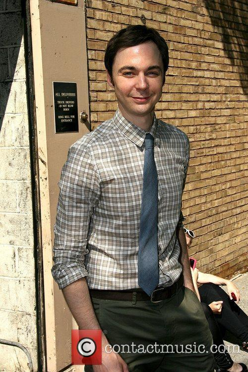 Jim Parsons leaving ABC studios after appearing on...