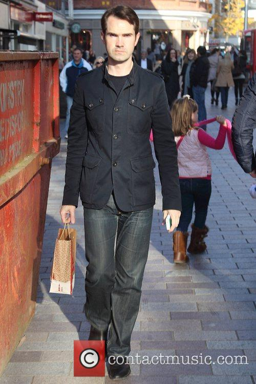 Jimmy Carr is seen shopping while in Belfast