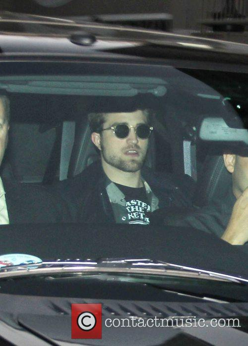 Robert Pattinson leaves the 'Jimmy Kimmel Live!' studios