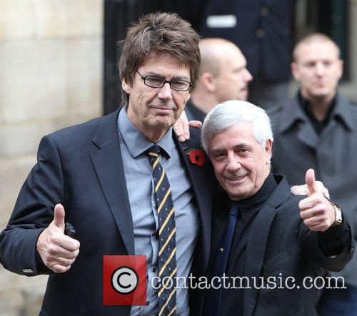 Mike Read The funeral of Sir Jimmy Savile...