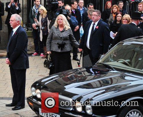 Mourners and Jimmy Savile 2