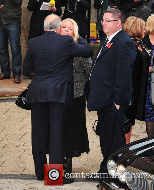 Mourners and Jimmy Savile 1