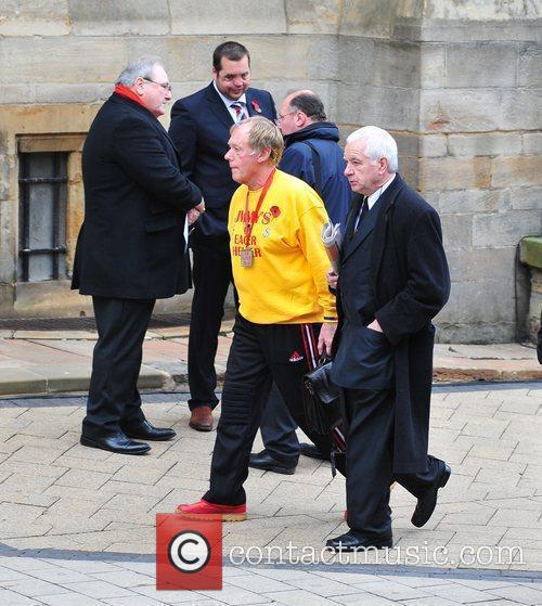 Dave Eager The funeral of Sir Jimmy Savile...