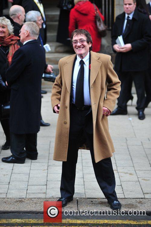 Howard Silverman The funeral of Sir Jimmy Savile...