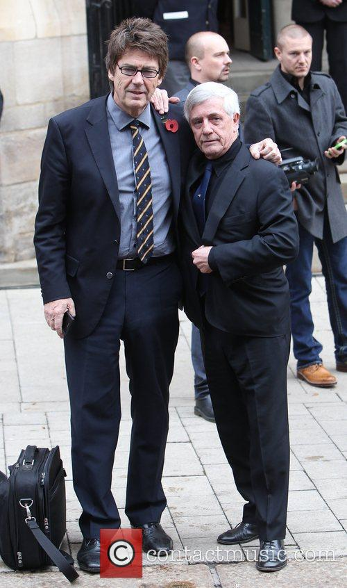 Mike Read and Tony Prince The funeral of...