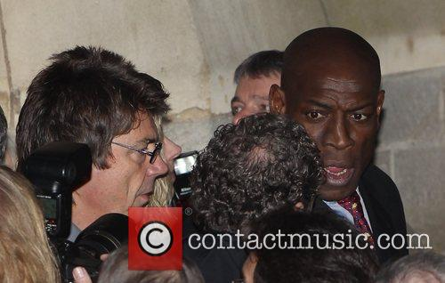 Mike Read, Frank Bruno The funeral of Sir...