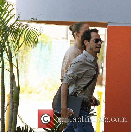Jennifer Lopez and Marc Anthony are seen departing...