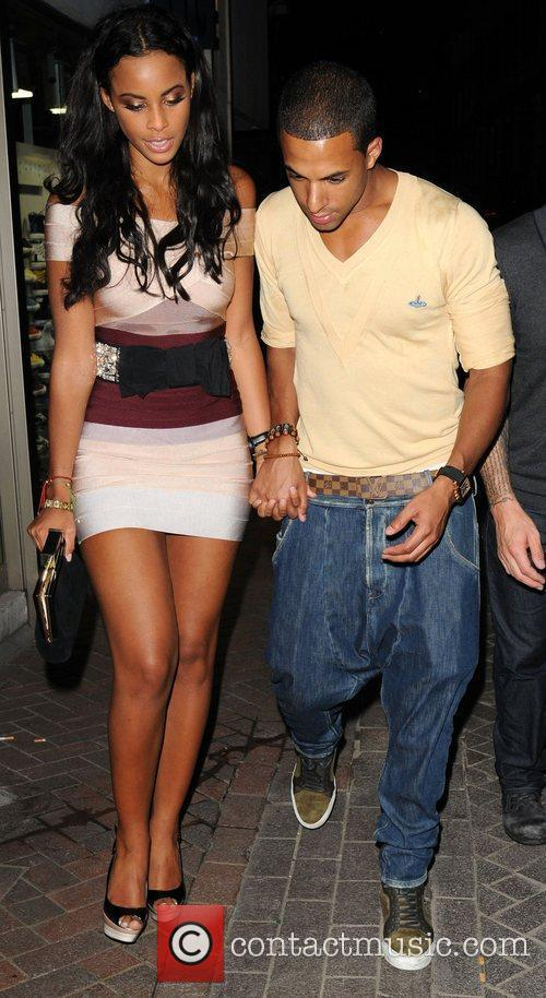 Marvin Humes and Rochelle Wiseman JLS leave Alto...