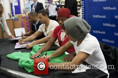 JLS, Aston Merrygold and Jonathan Gill 5