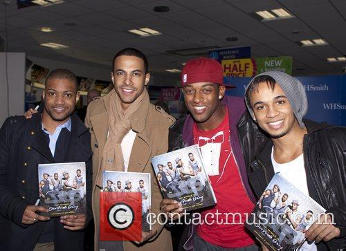 JLS, Aston Merrygold and Jonathan Gill 1