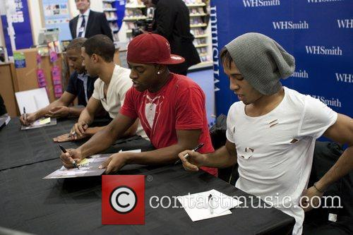 JLS, Aston Merrygold and Jonathan Gill 3