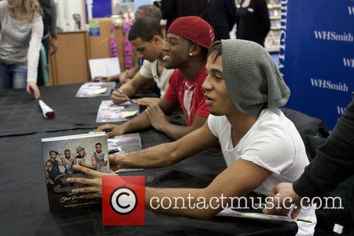 JLS, Aston Merrygold and Jonathan Gill 4