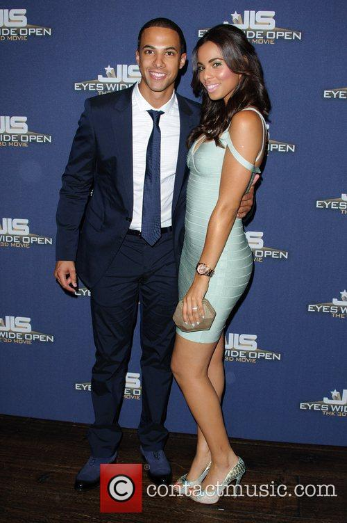 Marvin Humes and Rochelle Wiseman JLS - Eyes...