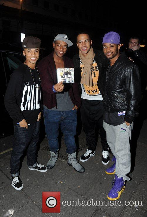 Aston Merrygold and Jonathan Gill 5