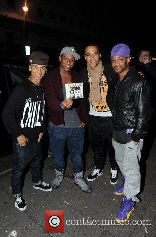 Aston Merrygold and Jonathan Gill 2