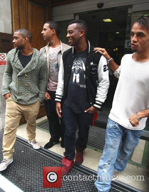 Jonathan Gill, Aston Merrygold and Jls 2