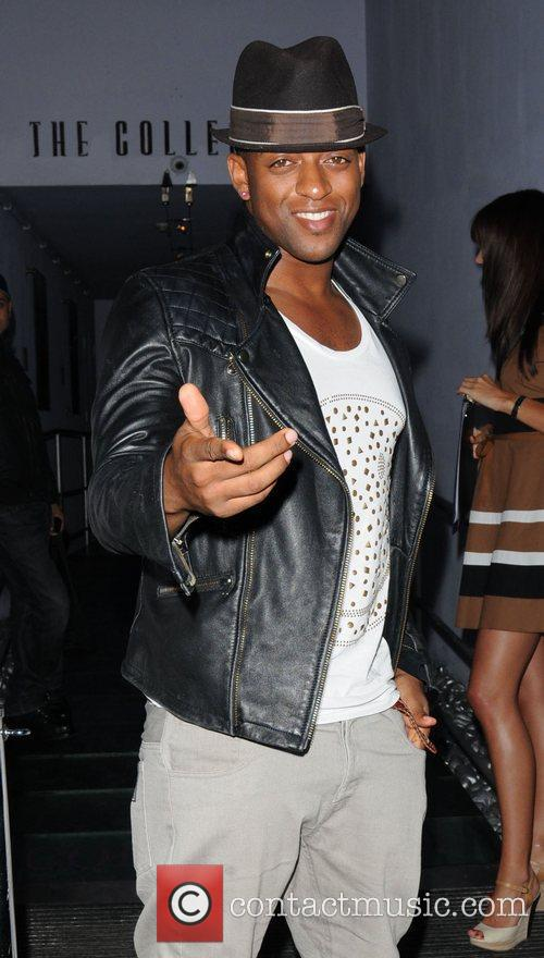 Oritse Williams JLS visit The Collection restaurant to...