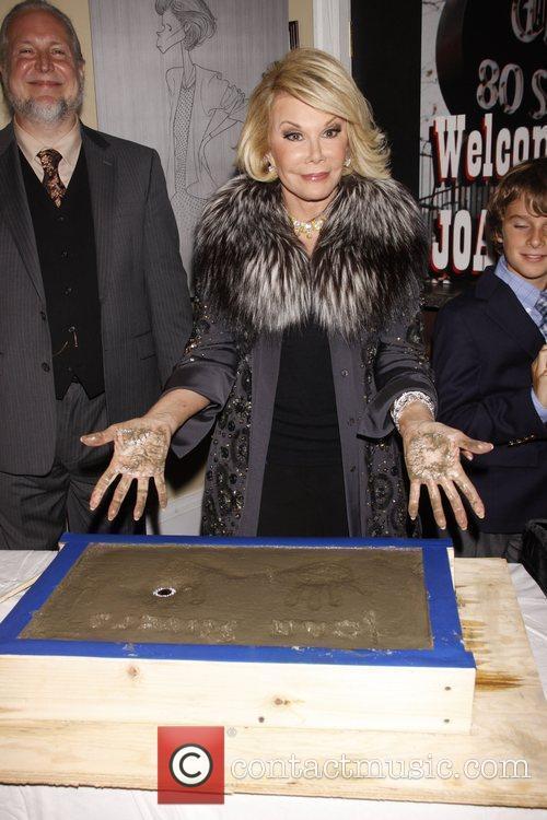 Joan Rivers and Melissa Joan 10