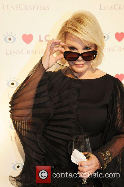 Joan Rivers was a special guest at an...