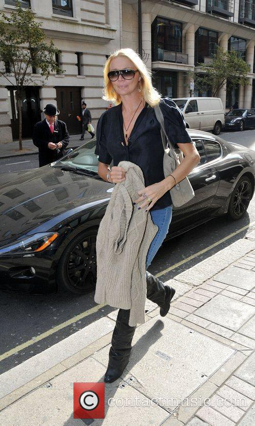 Jodie Kidd out and about in Mayfair London,...