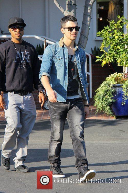 Joe Jonas leaves Fred Segal Los Angeles, California