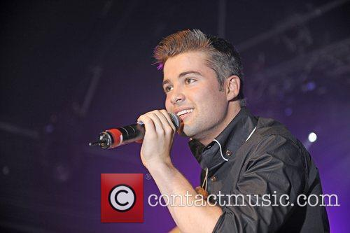 Joe McElderry performing live at G-A-Y London, England