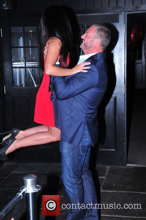 Mick Norcross Celebrities attend the birthday party of...