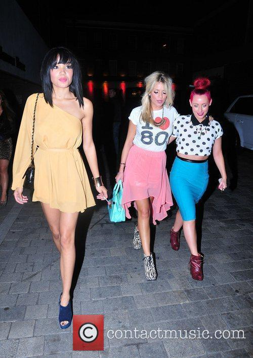 Celebrities attend the birthday party of Joey Essex,...