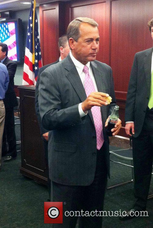 House Speaker John Boehner was inducted into the...