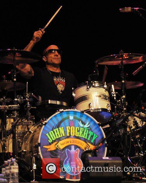 Kenny Aronoff performs at the Seminole Hard Rock...