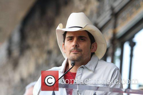 Brad Paisley and Walk Of Fame 3