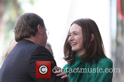 John Lasseter, Emily Mortimer and Star On The Hollywood Walk Of Fame 7