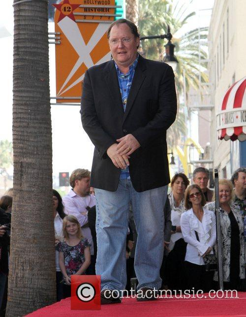 John Lasseter and Star On The Hollywood Walk Of Fame 4
