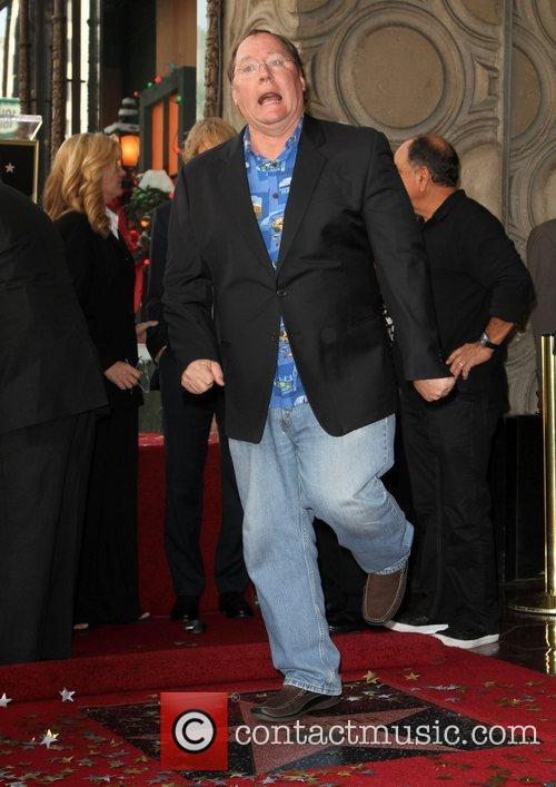 John Lasseter and Star On The Hollywood Walk Of Fame 9