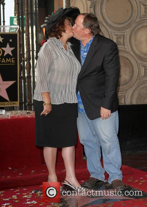 John Lasseter and Star On The Hollywood Walk Of Fame 2