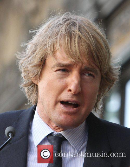 Owen Wilson and Walk Of Fame 6