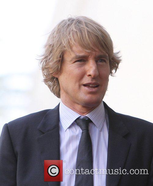 Owen Wilson and Walk Of Fame 4