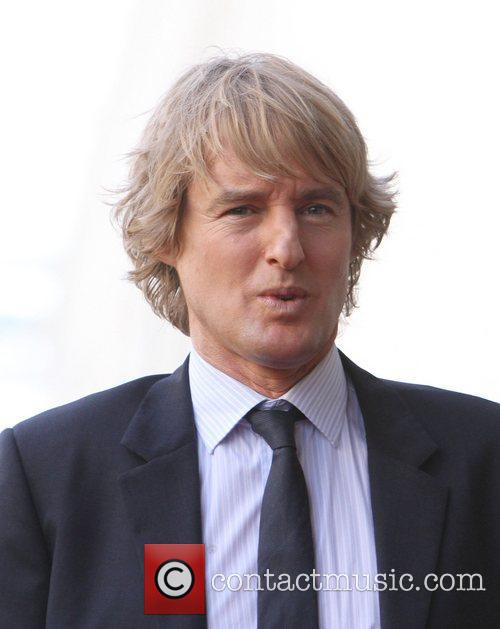 Owen Wilson and Walk Of Fame 3
